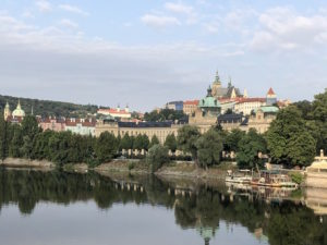 Landscape view of Prague